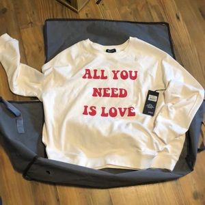 🆕 Anthro WILDFOX All You Need Sommers Sweatshirt